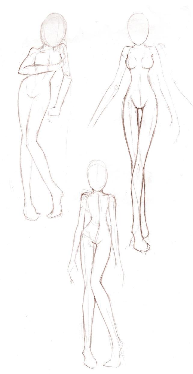 Female anatomy practice 3 by Ginmaru on DeviantArt