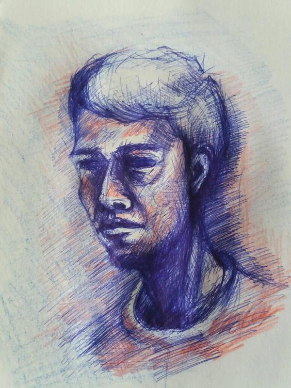 portrait by marriansebastian