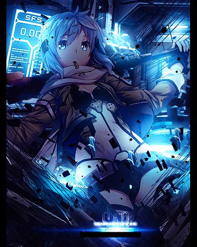 Sword Art Online 2 - Shino by Sasaki-Mika on DeviantArt