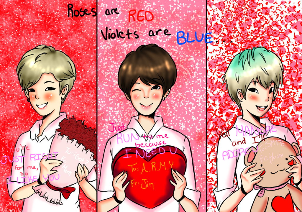 Roses are red, violets are blue... by viannilla on DeviantArt