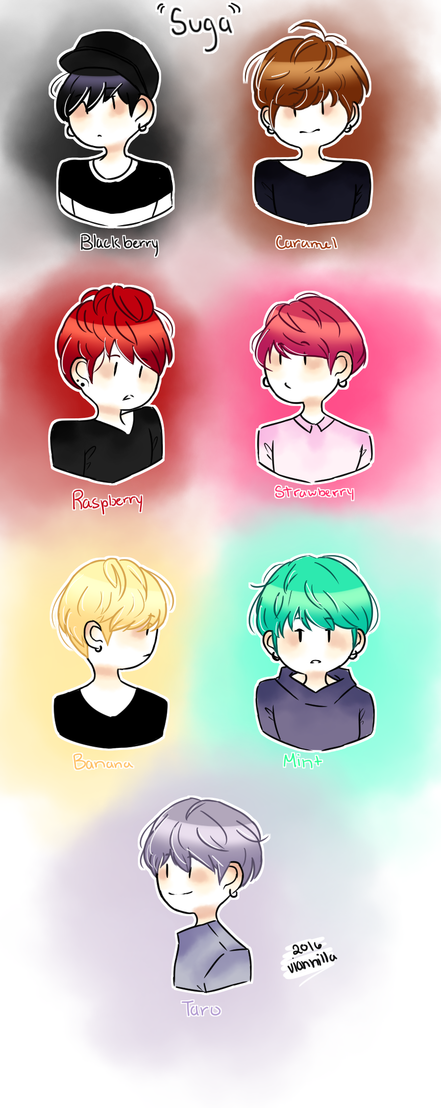 Hair Colors Suga By Viannilla