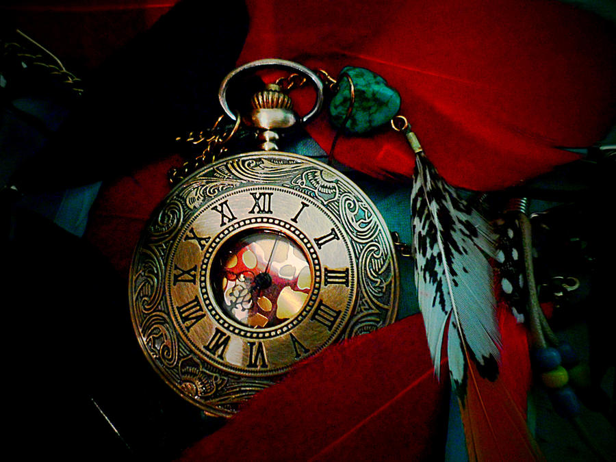 Tick Tock: Take your feathers and fly by redcatmoonlight