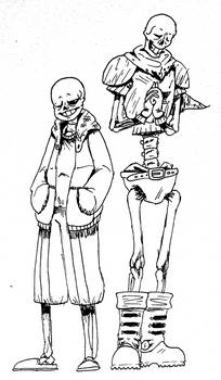 Sans and Papyrus