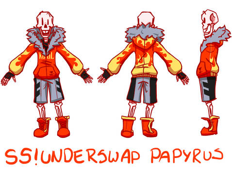 NEW Official SS!Underswap Papyrus BAD QUALITY
