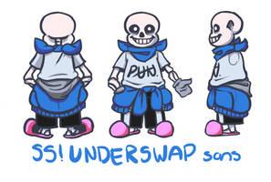 UPDATED SS!Underswap sans Design