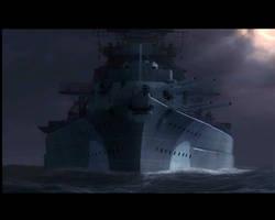 The Bismarck by GermanVillain
