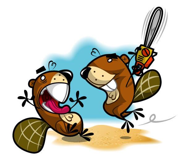 Beavers by urbanita-studio
