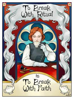 To Break With Ritual