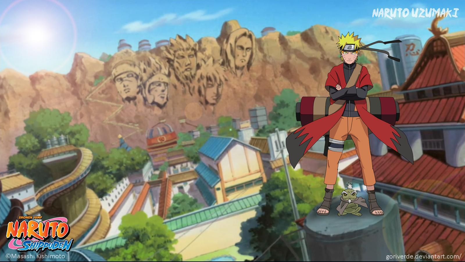 Naruto and Fukasaku by goriverde on DeviantArt