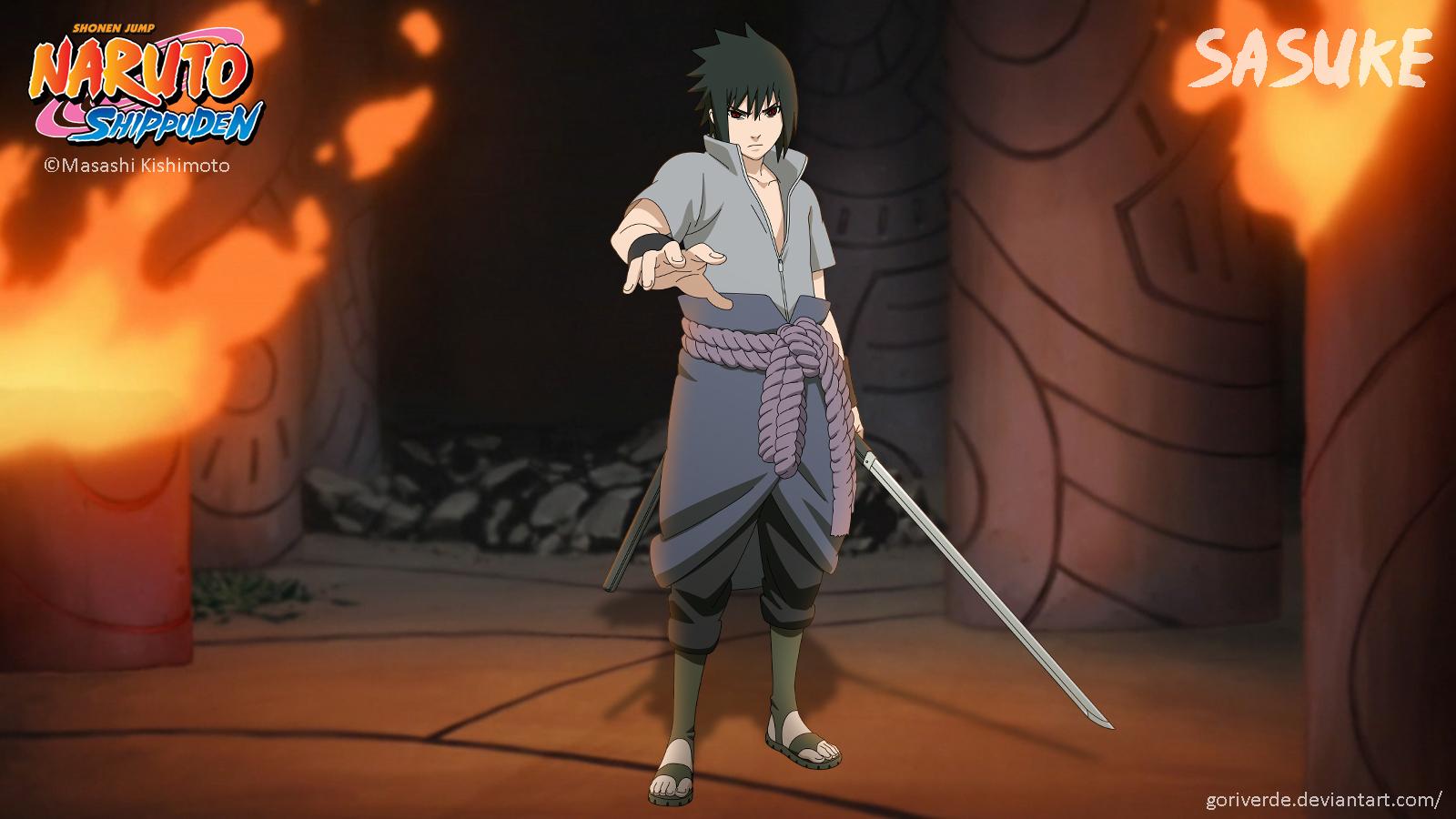 Sasuke by goriverde