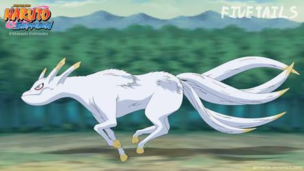 Five Tails / Gobi / Kokuo by goriverde