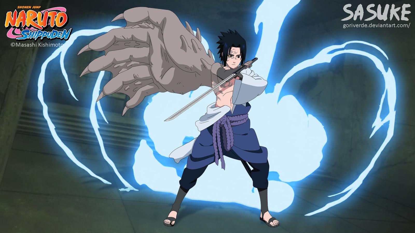 Sasuke (curse mark) by goriverde