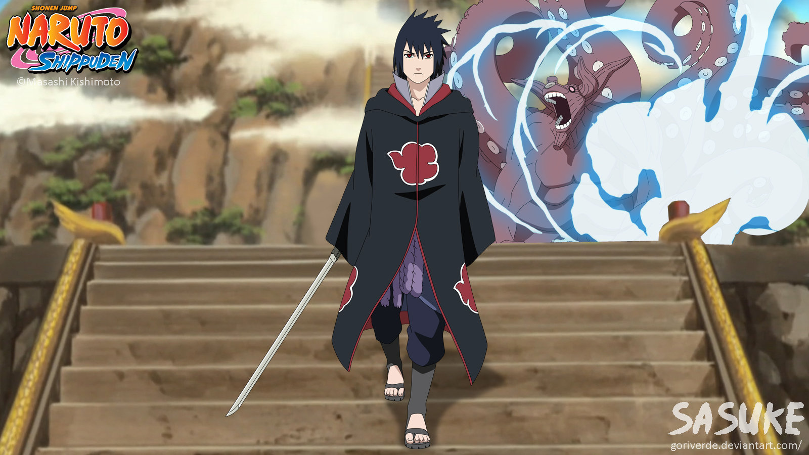 Sasuke (Akatsuki) by goriverde on DeviantArt