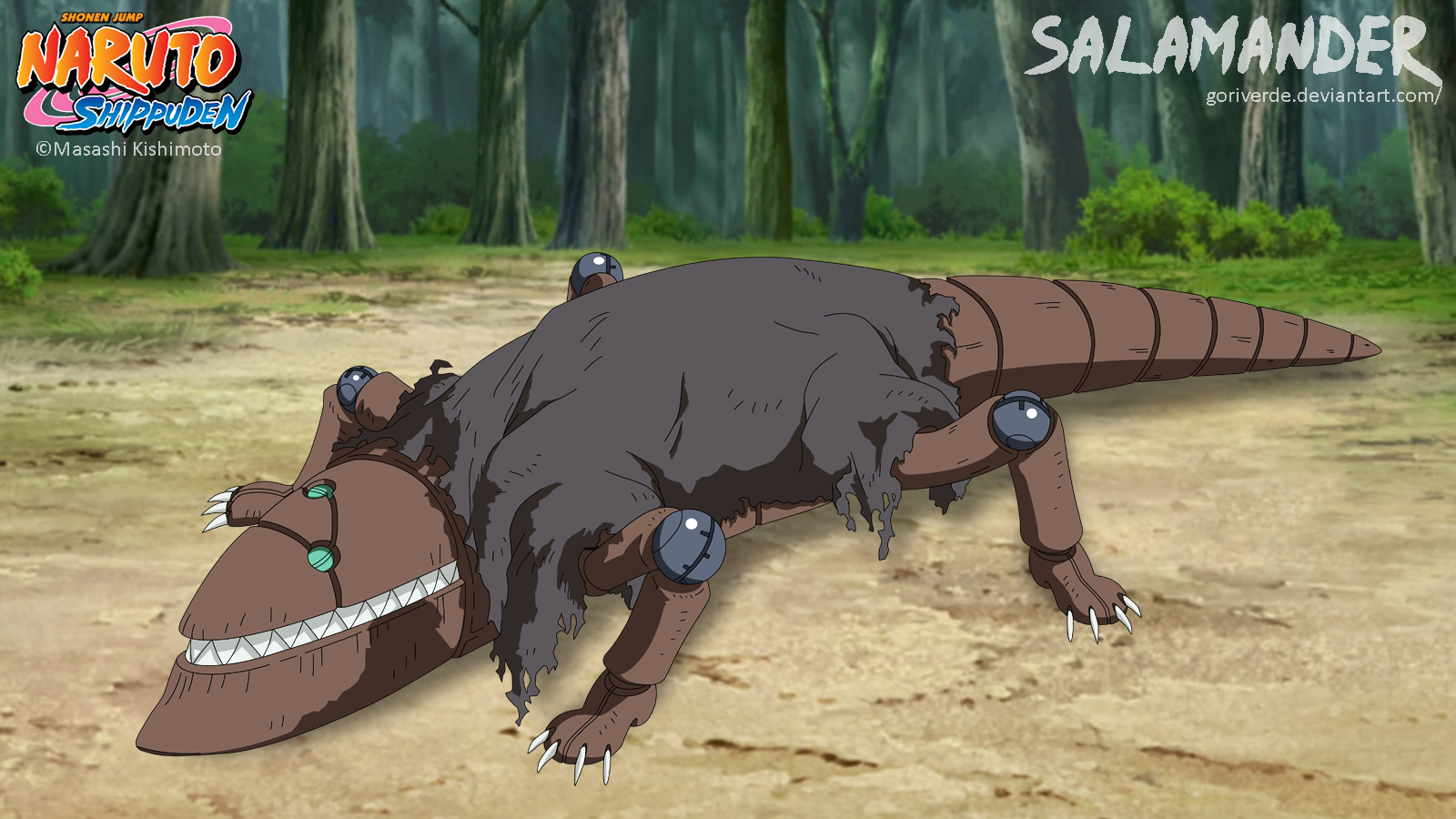 Salamander/ Sanshouo by goriverde
