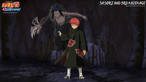 Sasori and 3rd Kazekage