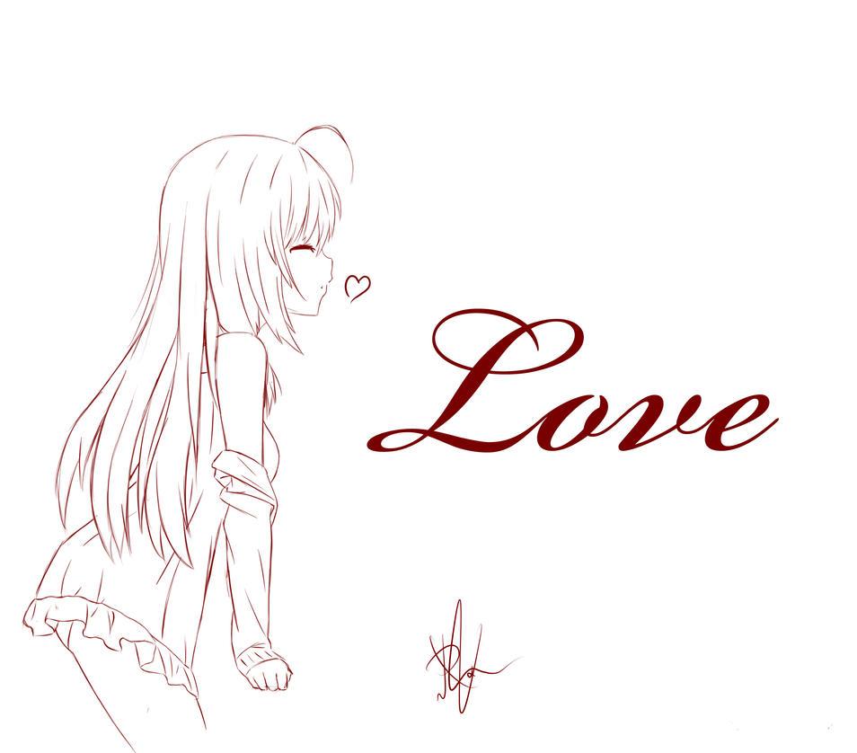 Love - Sketch by Achirimotedo