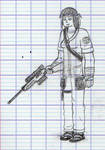 Sketch : Karateka/Sniper