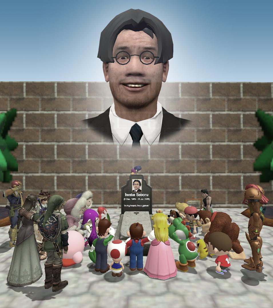 Rest in Peace, Satoru Iwata. by RomWatt