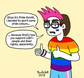 Pride Month by RomWatt