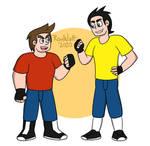 Junior and Jony Starking