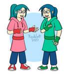 Jenny and Jessie Sunn by RomWatt