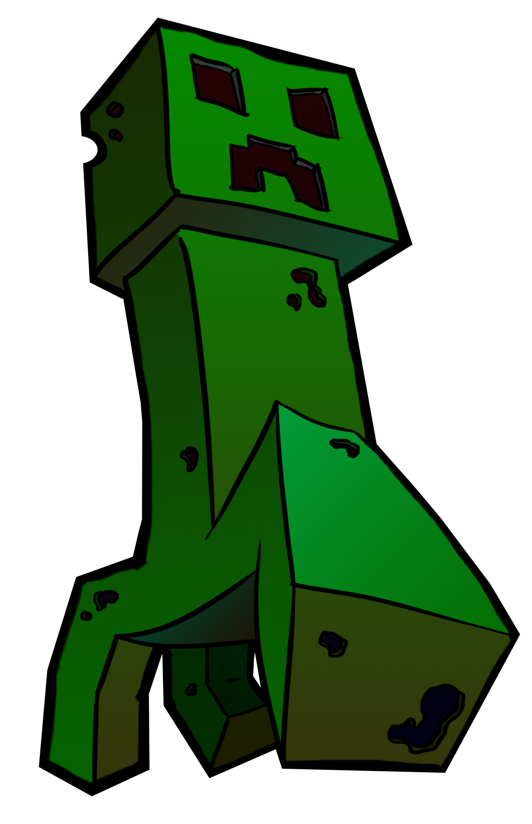 Creepers minecraft drawings