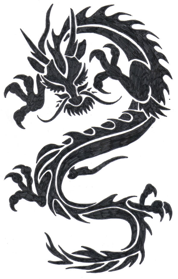 how to draw chinese new year dragon