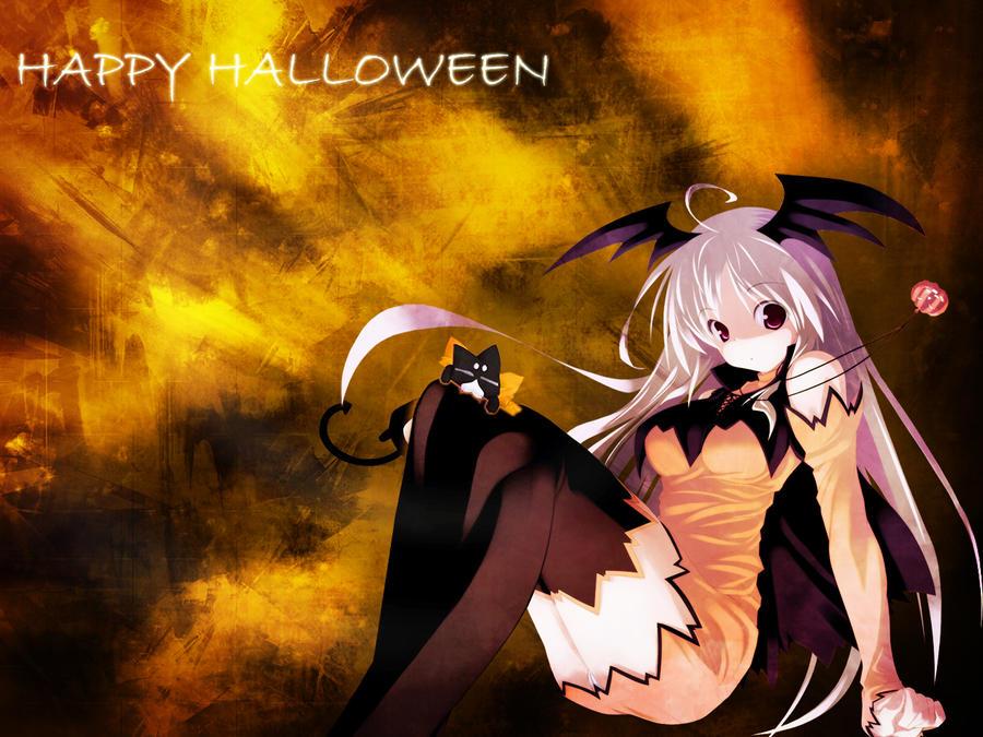 Halloween Wallpaper 2 by EclairDesigns