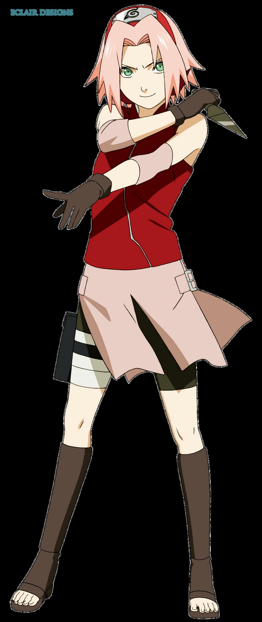 Sakura Haruno Render by EclairDesigns on DeviantArt