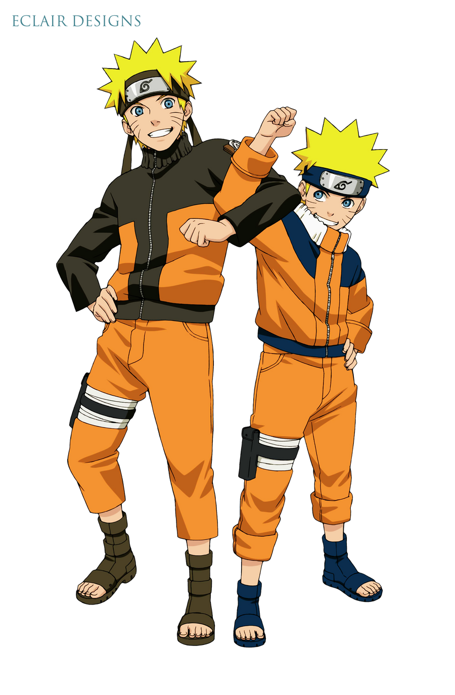 Naruto Charset & MegaMan Charset and Faceset in RPG Maker VX