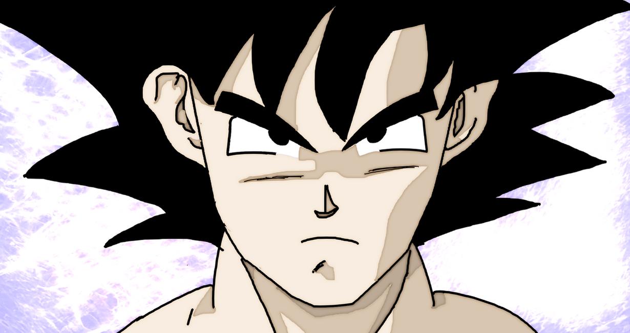 Goku Face by Fahad97