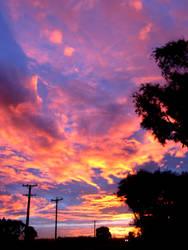 Molten Clouds by lilhazelnutta