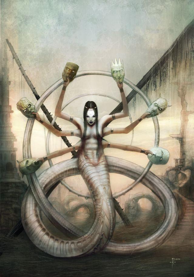 Seven Deadly Sins by mindsiphon