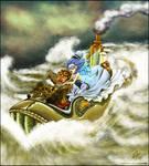 Steampunk Journey by DaineN