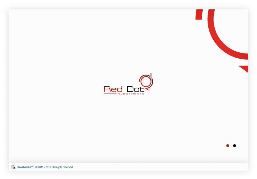 Red Dot Logo Logo Red Dot Investments by