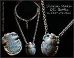 Scarab Bottle Necklace