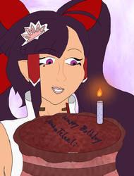 Naka Birthday Cake by MissJewel6