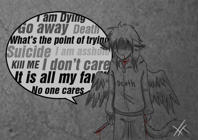 Depression Speaks by RavenGuardian13