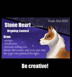 Stone Heart -Drawing contest 2020