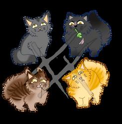 Warriorcats derpy stickers