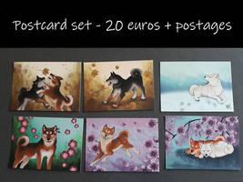 Postcard set [Art Alley]