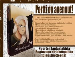 HaltiaLegenda - fantasia kirja