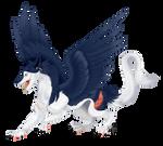 Sergal Dragon [Commission]