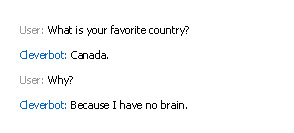 Poor Canada Cleverbot by elfwood224