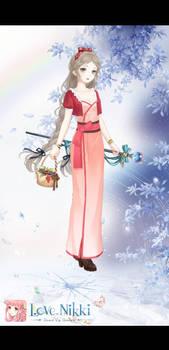 Nikki as Aerith from Final Fantasy VII Original 2