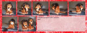 .: New 2011 WDW Scar plush :.