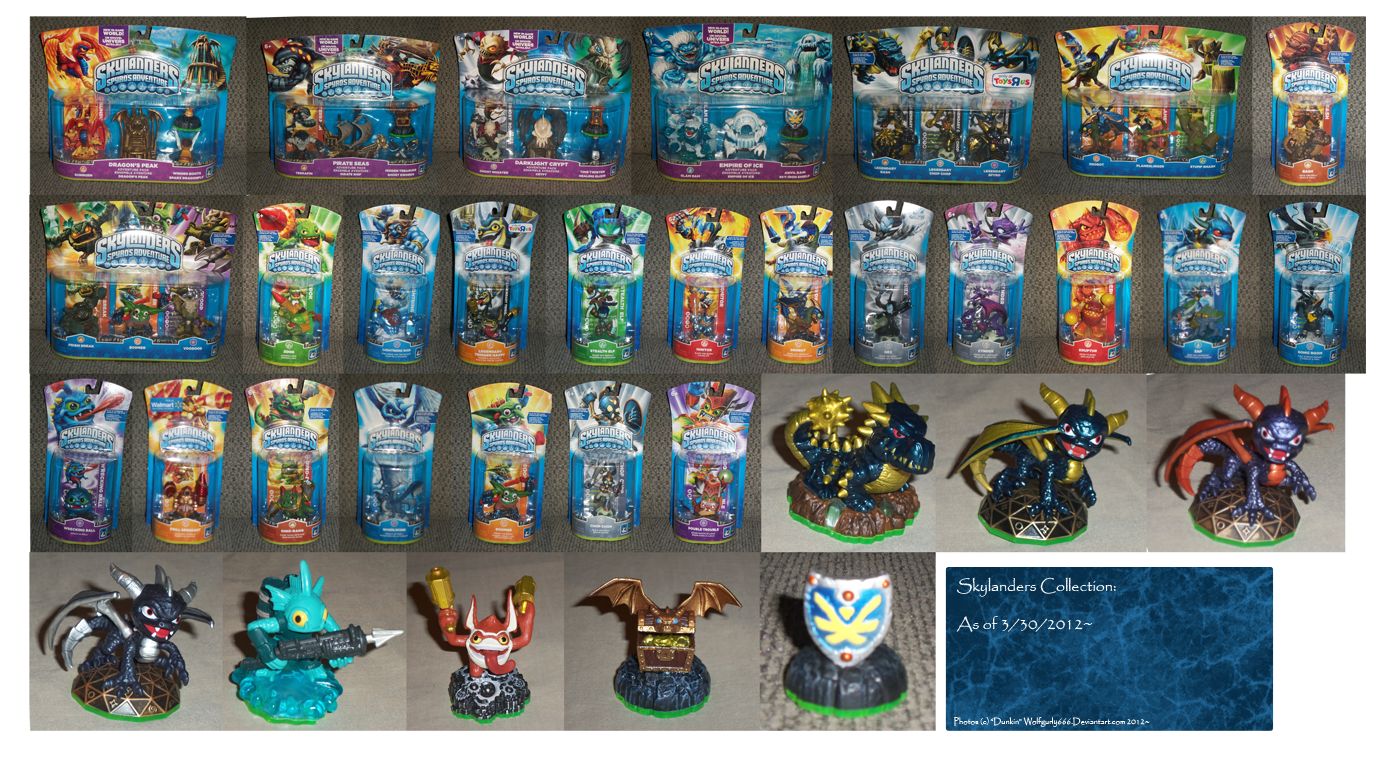 .: Current Skylanders Collection :. by BeachBumDunkin
