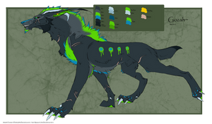 .: Gozah: 2012 Ref sheet (Revamped):. by BeachBumDunkin