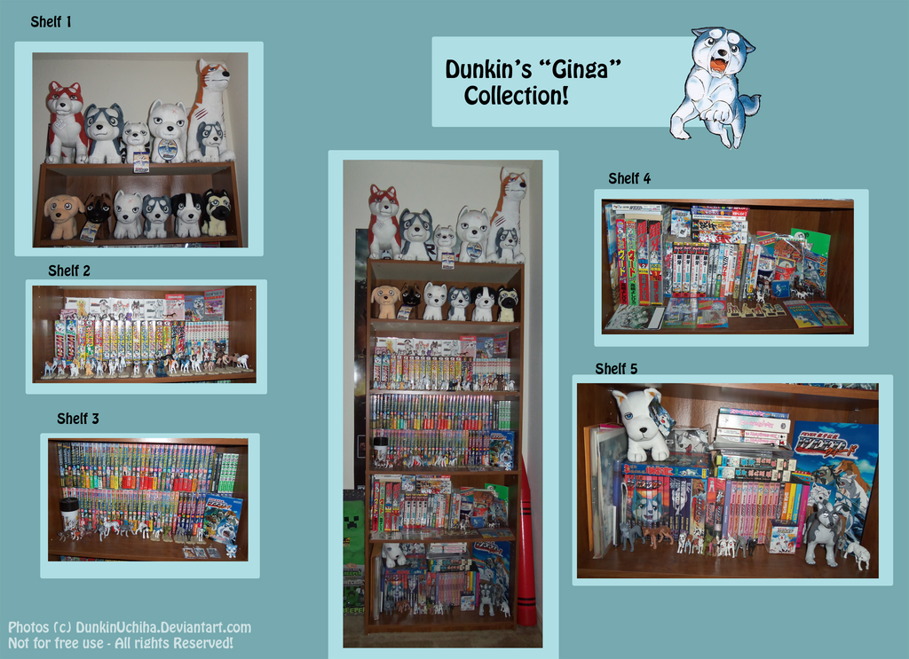 .: Ginga Collection- 12/30/2013 :. by Dunkin-Prime