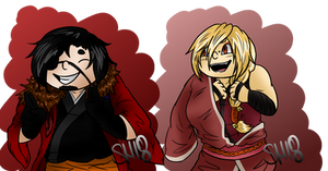 TG: Hayato and Masashi by ShadowHachia